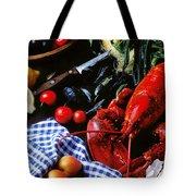 Lobster Tote Bag by Garry Gay