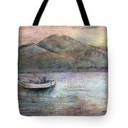 Lone Fisherman Tote Bag by Arline Wagner