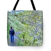 Lonely Path Tote Bag by Jeff Kolker