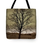 Lonely Tree Tote Bag by Marty Koch