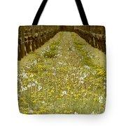 Long Island Vineyard Tote Bag by Anahi DeCanio