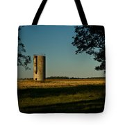 Lonly Silo 5 Tote Bag by Douglas Barnett