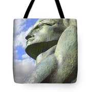 Look To The Sky - L Tote Bag by Mike McGlothlen