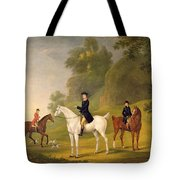 Lord Bulkeley And His Harriers Tote Bag by Francis Sartorius