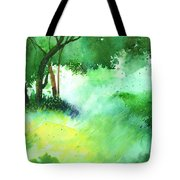 Lost in thought Tote Bag by Anil Nene