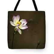 Lotus And Friend Tote Bag by Rob Travis