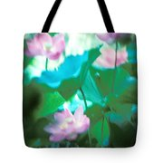 Lotus--ethereal Impressions II 20a1 Tote Bag by Gerry Gantt
