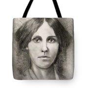 Louisa May Alcott Tote Bag by Jack Skinner