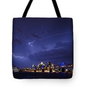 Louisville Storm - D001917b Tote Bag by Daniel Dempster