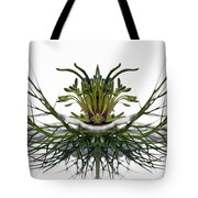 Love In A Mist Tote Bag by Jean Noren