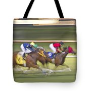 Love Of The Sport Tote Bag by Betsy Knapp