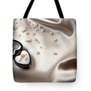 Love Ring Tote Bag by Carlos Caetano
