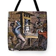 Lovejoys Printing Press Tote Bag by Granger