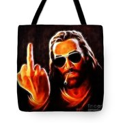 Lucifer This Is For You No2 Tote Bag by Pamela Johnson