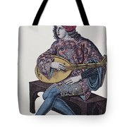LUTE PLAYER, 1839 Tote Bag by Granger