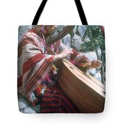Lute Player Tote Bag by Photo Researchers, Inc.