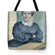Lydia Maria Child (1802-1880) Tote Bag by Granger
