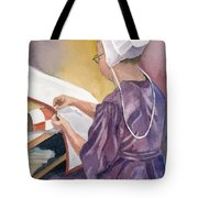 Lydia Tote Bag by Marsha Elliott