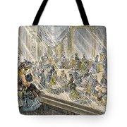 Macys Holiday Display, 1876 Tote Bag by Granger