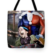 Mad Men Series 5 of 6 - Sorry Grandma But You Got To Go Tote Bag by Reggie Duffie