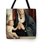 Madonna And Child - Late 15th To Early 16th Century  Tote Bag by Giovanni Battista Cima da Conegliano