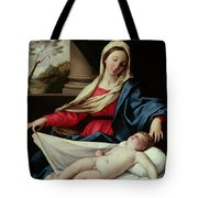 Madonna And Child  Tote Bag by II Sassoferrato