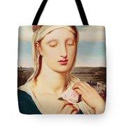 Madonna Tote Bag by Simeon Solomon