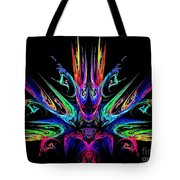 Magic Fire Tote Bag by Klara Acel