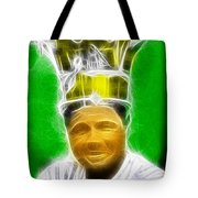 Magical Babe Ruth Tote Bag by Paul Van Scott