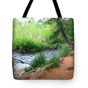 Magical Trees At Red Rock Crossing Tote Bag by Carol Groenen