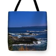 Maine At West Quoddy Tote Bag by Skip Willits