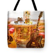 Making Music 003 Tote Bag by Barry Jones