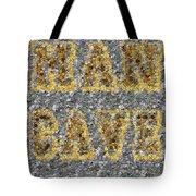 Man Cave Coin Mosaic Tote Bag by Paul Van Scott