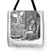 Man In The Moon, 1833 Tote Bag by Granger