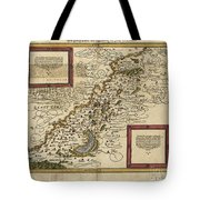 Map Of Palestine, 1588 Tote Bag by Photo Researchers