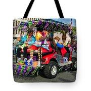 Mardi Gras Clowning Tote Bag by Steve Harrington