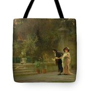 Married For Love Tote Bag by Marcus Stone