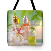 Massage Spa Concepts Tote Bag by Atiketta Sangasaeng