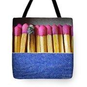 Matchbox Tote Bag by Carlos Caetano