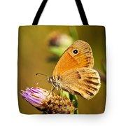 Meadow Brown Butterfly  Tote Bag by Elena Elisseeva