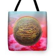 Measles Virus Tote Bag by Russell Kightley