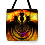 Melting Pot . Gold . Square . S8a.S11 Tote Bag by Wingsdomain Art and Photography