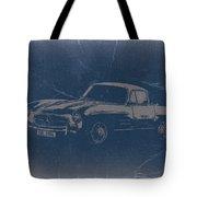 Mercedes Benz 300 Sl Tote Bag by Naxart Studio