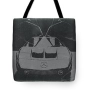 Mercedes Benz C IIi Concept Tote Bag by Naxart Studio