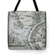 Mexico - Spanish Conquest Tote Bag by Granger