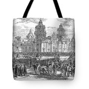 Mexico City, 1847 Tote Bag by Granger