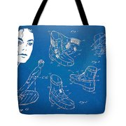 Michael Jackson Anti-gravity Shoe Patent Artwork Tote Bag by Nikki Marie Smith