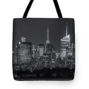 Mid-town Manhattan Twilight II Tote Bag by Clarence Holmes