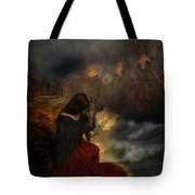 Miserere Tote Bag by Lianne Schneider