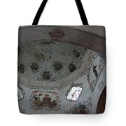 Mission San Xavier Del Bac - Vaulted Ceiling Detail Tote Bag by Suzanne Gaff
